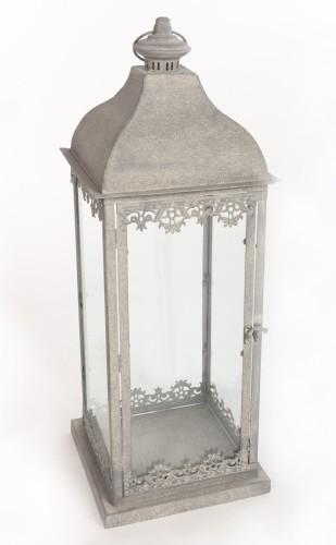 Lampion Metalowy Latarnia W Stylu Shabby Chic 47 Cm