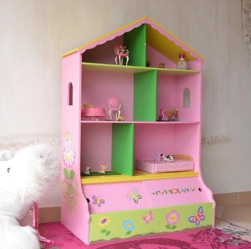 Regał Na Zabawki Domek Dla Lalek Wróżkowa Kraina