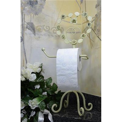 Metalowy Stojak Uchwyt Na Papier Toaletowy W Stylu Vintage Retro