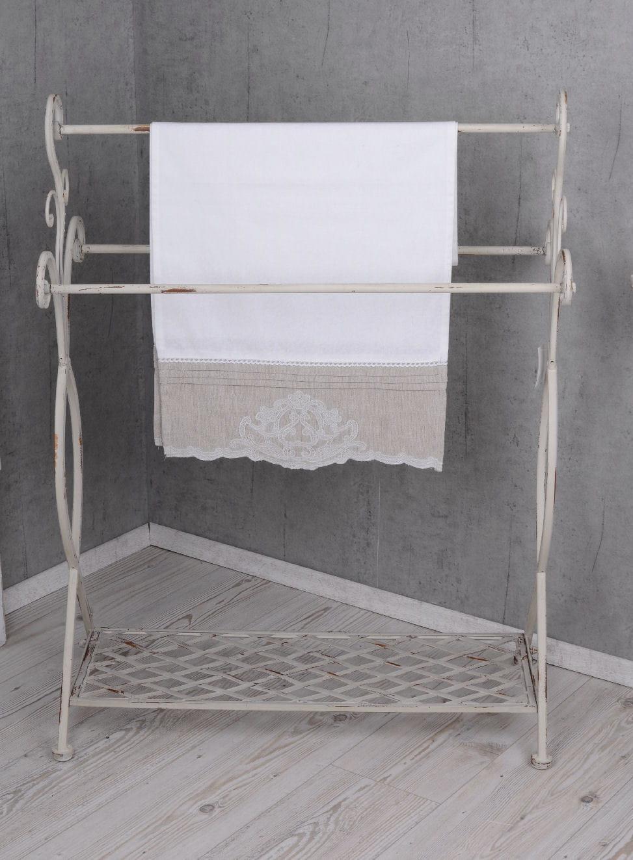 Wieszak łazienkowy Na Ręczniki Z Półką